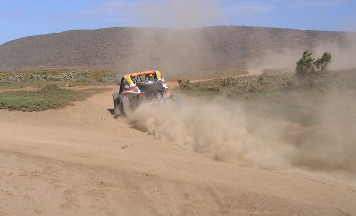Baja is fun in a buggy, too!