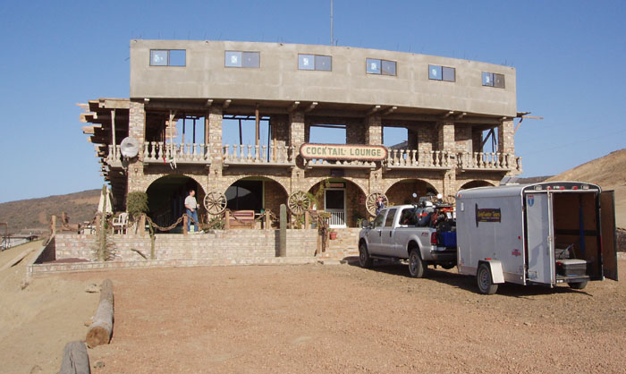 The Cueva del Pirata motel will one day be 3 stories high.