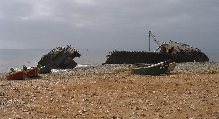 The famous Shipwreck